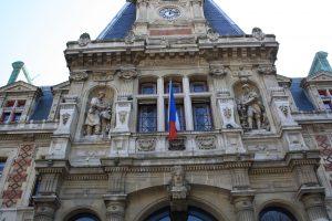 Ayuntamiento de Paris Fachada