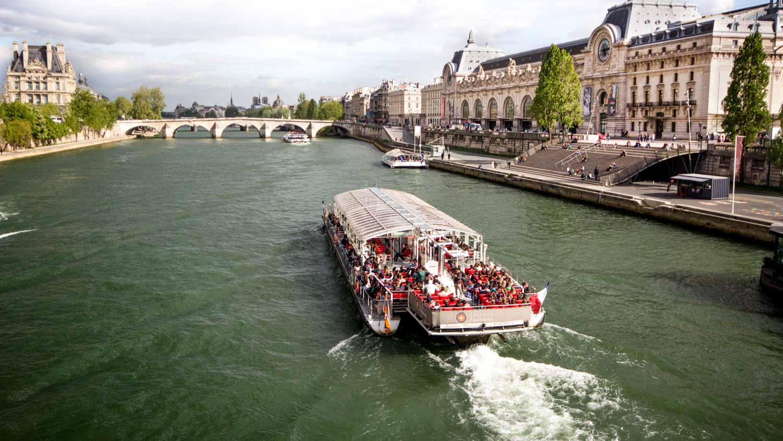 El Río Sena - Actividades, mapa y puentes - DescubriParis