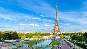Campos de eliseo y Torre Eiffel
