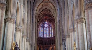 Catedral de Notre Dame interior