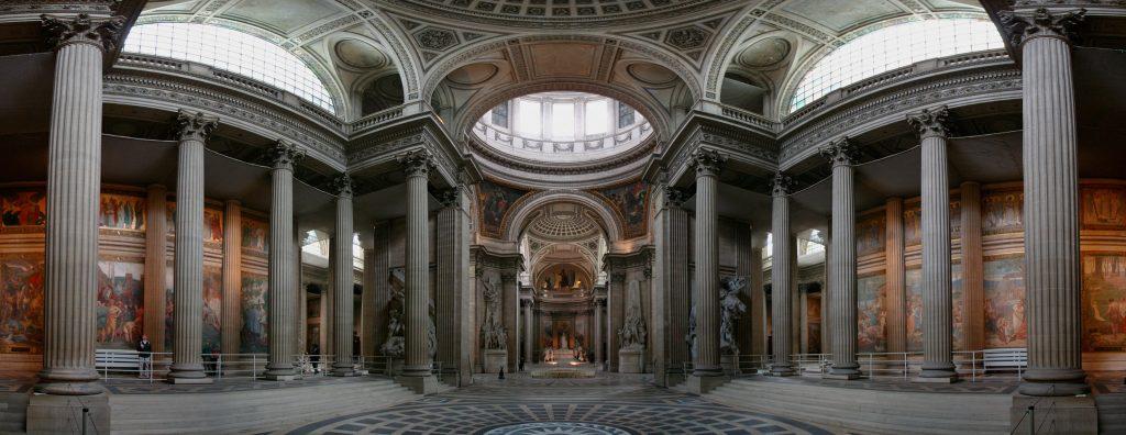 El panteon frances interior