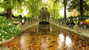 Estanque jardín de luxemburgo