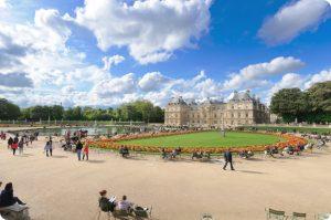 Jardin de luxemburgo en Paris