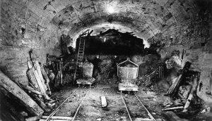 Metro de paris en construccion