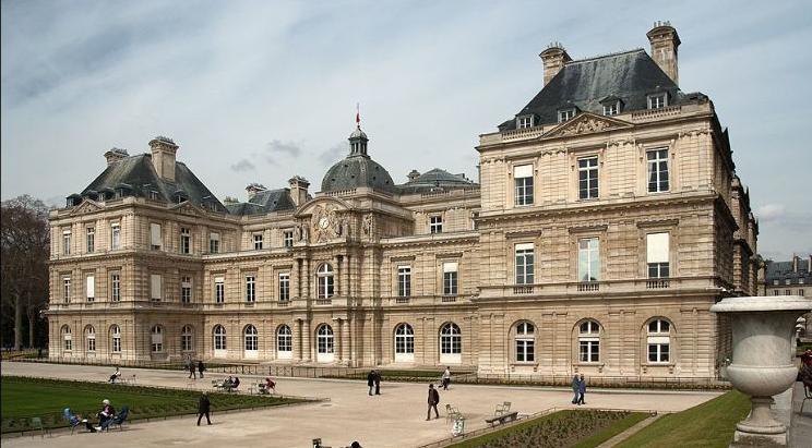 Palacio y Jardin de Luxemburgo - Sede del Senado de Francia - Descubri París