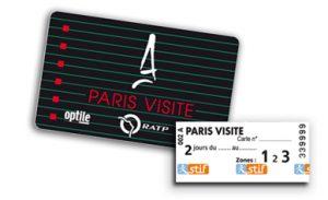 Paris Visite tarjeta