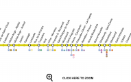 Plano linea 10 metro de paris