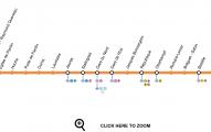 Plano linea 5 metro de paris