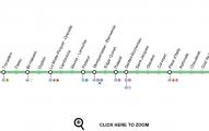 Plano linea 6 metro de paris