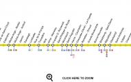 Plano linea 9 metro de paris