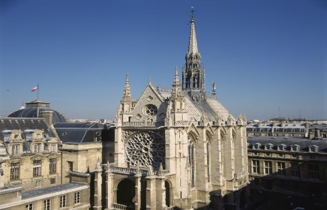 Curiosidades Parisinas Santa-Capilla