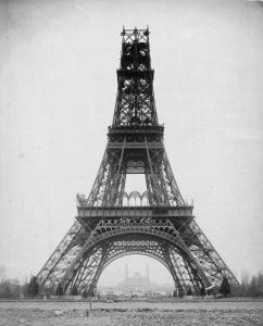 Torre Eiffel construccion